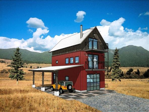 Garage studio loft for Garage with studio